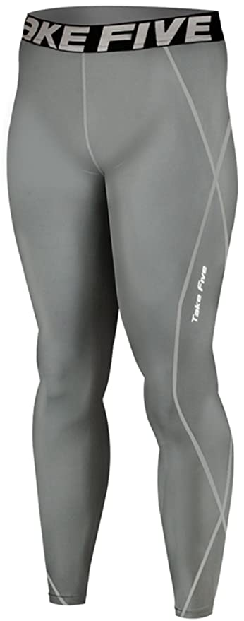 308fa764855bea New 019 Skin Tights Compression Leggings Base Layer Grey Running Pants Mens:  Amazon.co.uk: Sports & Outdoors