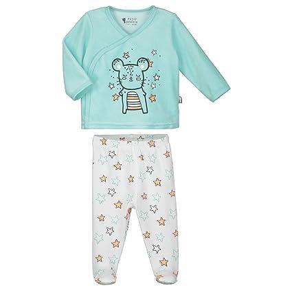 Pijama bebé 2 piezas de conejo – talla – 1 Meses ...