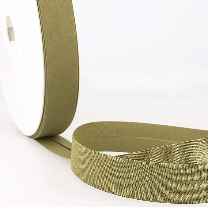5m de sergé vert kaki mercerie galon biais