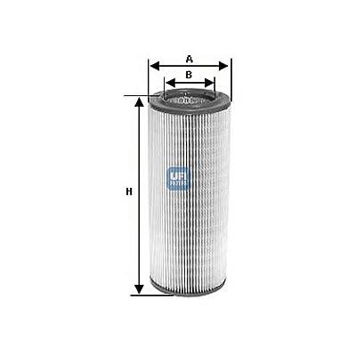 Ufi Filters 27.676.00 Air Filter: Automotive