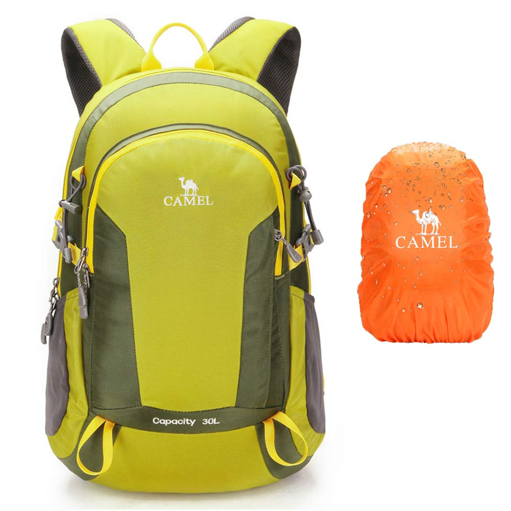 7071f5d34f7 CAMEL CROWN 50L Waterproof Hiking Backpack Travel Daypack Backpacks for  Outdoor Camping Trekking Backpacking