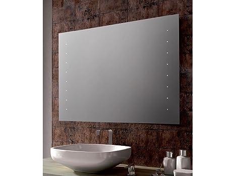 Infabbrica specchio bagno neon rettangolare ellen dimensioni