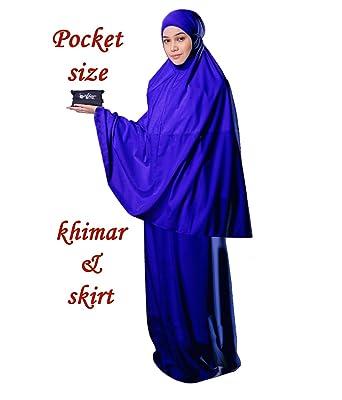 4f8c70d77 Muslim Women's Prayer Dress Pocket-Size Hijab Scarf Skirt Islamic Abaya by  AJAR