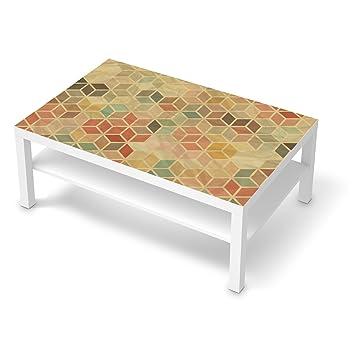 Creatisto Bedruckte Klebe Folie Für IKEA Lack Tisch 118x78 Cm | Möbel  Verschönern Möbelaufkleber Möbelfolie