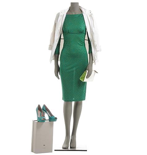 Diane Von Furstenberg Vestito Donna Sofferflecked Viscosa Verde