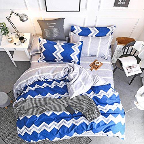BeddingWish Polyester Geometric Duvet Cover Sets for Women M