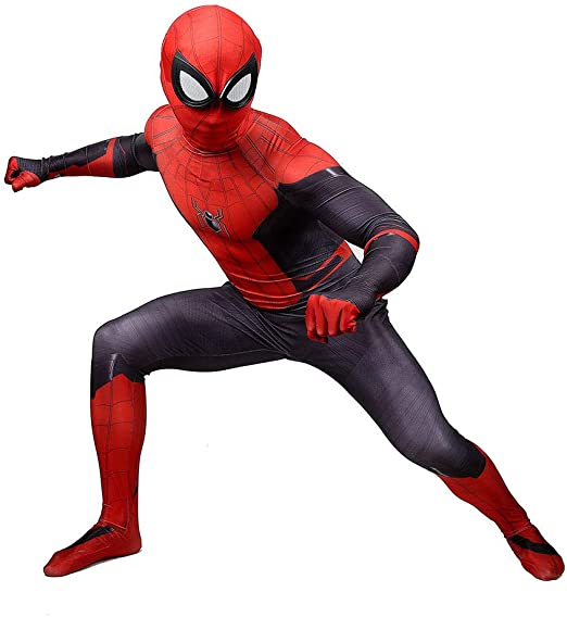BLOIBFS Carnaval Disfraz Spiderman Niño, Halloween Superhéroe ...