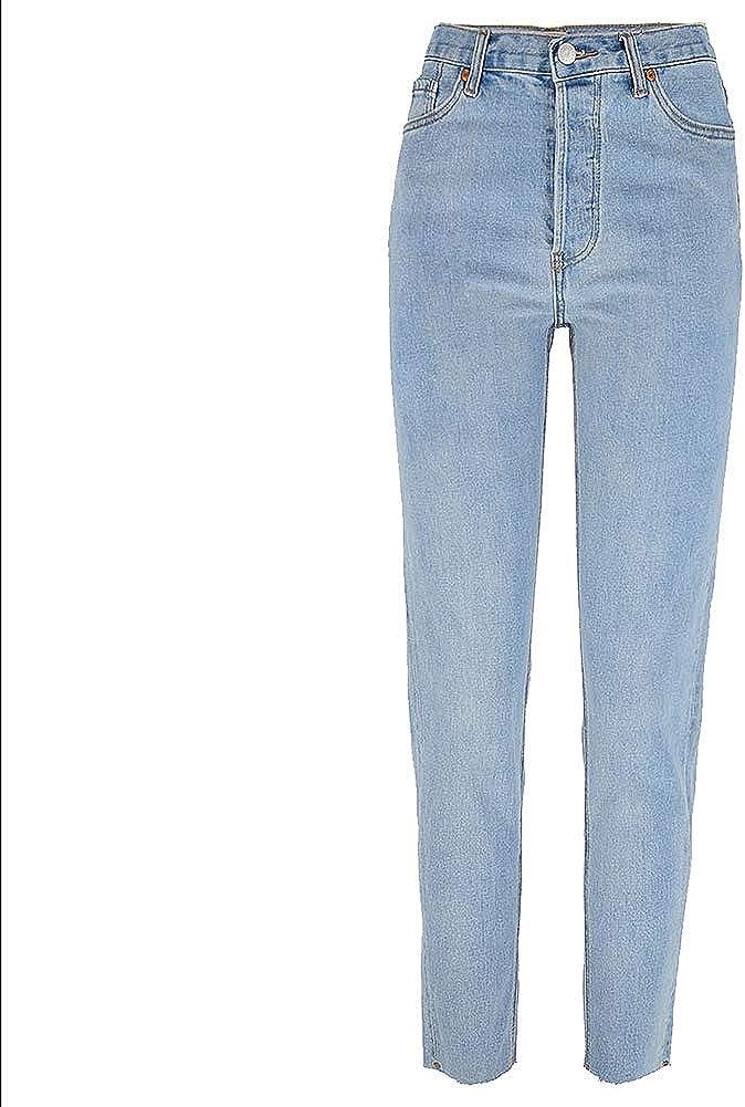 Suncaya Mujer Pantalones Cintura Alta Elasticos Stretch Jeans Pantalones Vaqueros Mujer Talla Grande Ropa Mujer