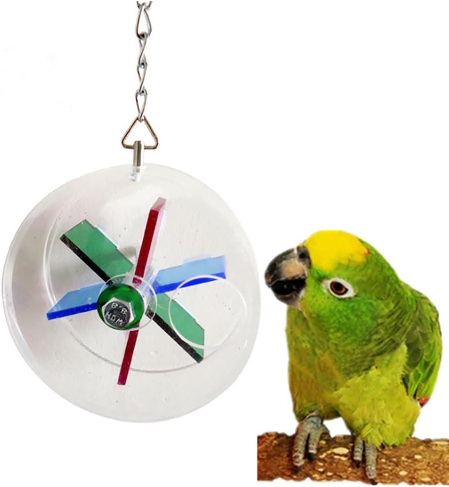 Catkoo - Comedero para pájaros con Forma de Zanahoria para Colgar, Juguete de forraje para Mascotas, Regalo de Cacahuete, Color al Azar