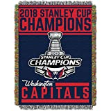 The Northwest Company Washington Capitals 2018 Stanley Cup Champions Woven Tapestry Throw