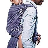 DIDYMOS Woven Wrap Baby Carrier Lisca/Herringbone Minos (Organic Cotton) , Size 6
