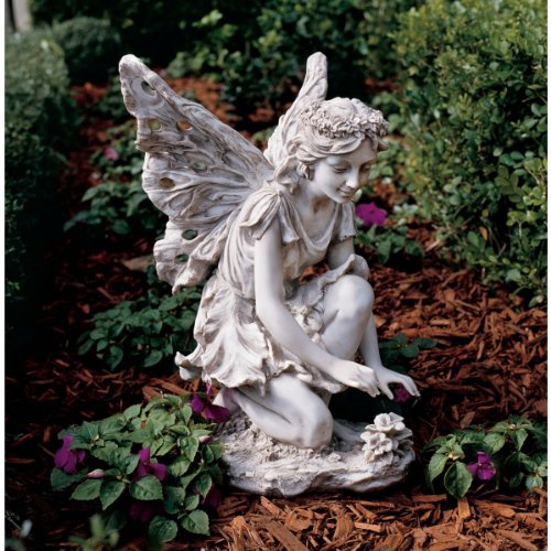 Classic Garden Flower Fairy Sculpture Statue Figurine by Artistic Solutions
