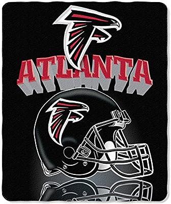0f05b2c6 The Northwest Company NFL Gridiron Fleece Throw, 50-inches x 60-inches