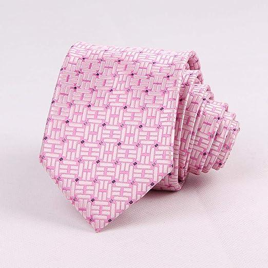 Littlefairy Hombre Designer Corbata,Lazo Rosa Regalo de Novios ...