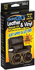Master Manufacturing ReStor-it Quick 20 Leather & VinyI Repair Kit, 20 Minute Repar, 7 Colors, Repairs Burns, Holes, Rips Furniture, Couchs, Seats