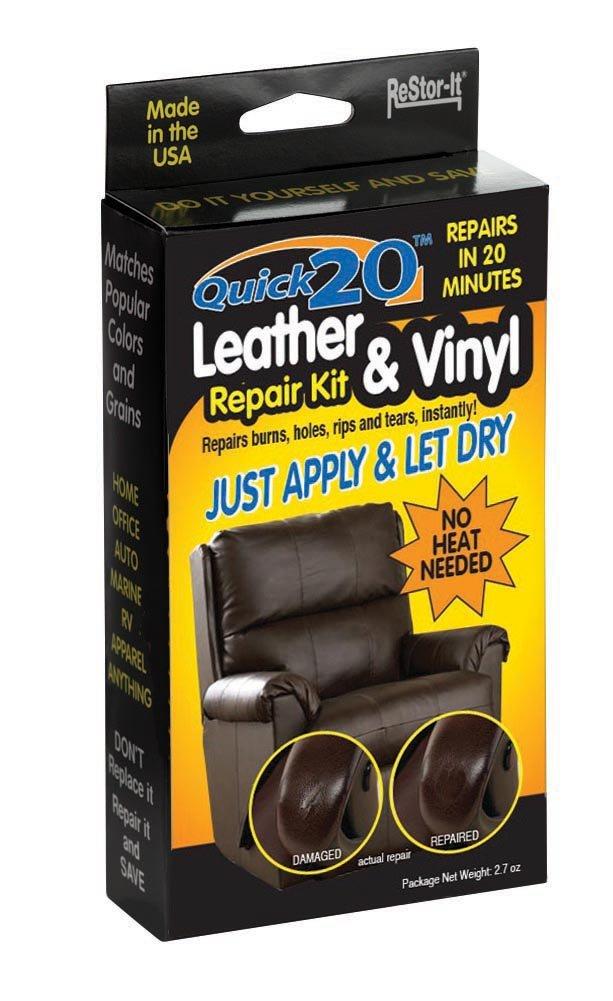 Quick 20 Leather & Vinyl Repair Kit- Restor-It 18081