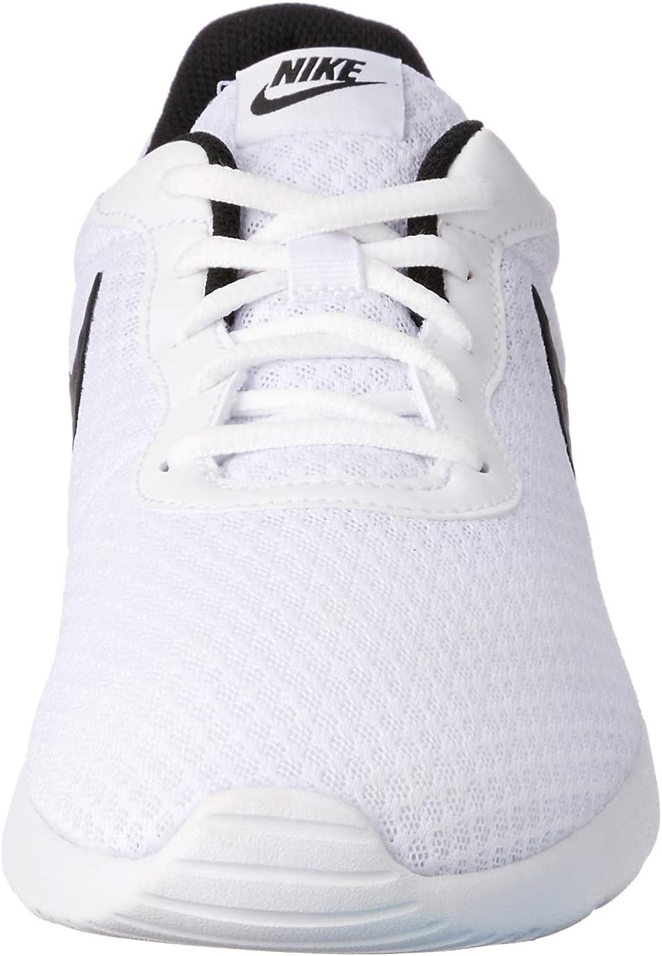 Nike Women's Tanjun Running Shoes Black (White/Black 100)