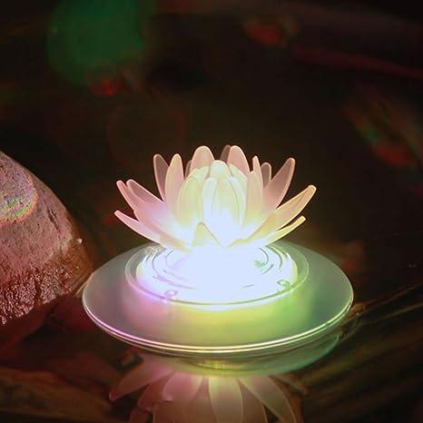 Luces solares flotantes para exterior, impermeables, luz LED que cambia de color, ideales como de...