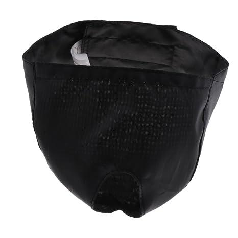 Sharplace Bozal de Gato para Preparación Accesoiros Diseño de Cierre Gancho Bucle Duradero - Negro,