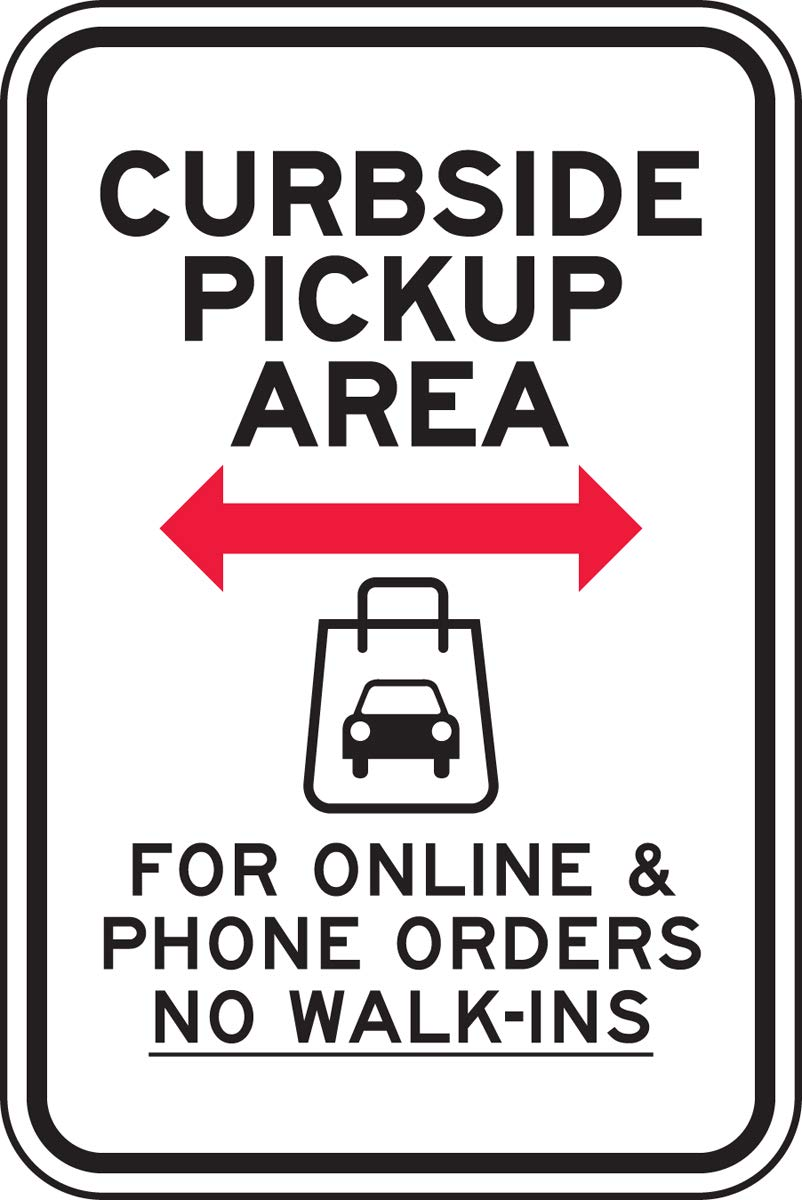 Accuform Parking Sign