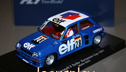 Fly - Scalextric slot 88219 renault 5 turbo european cup 1981 a-1207