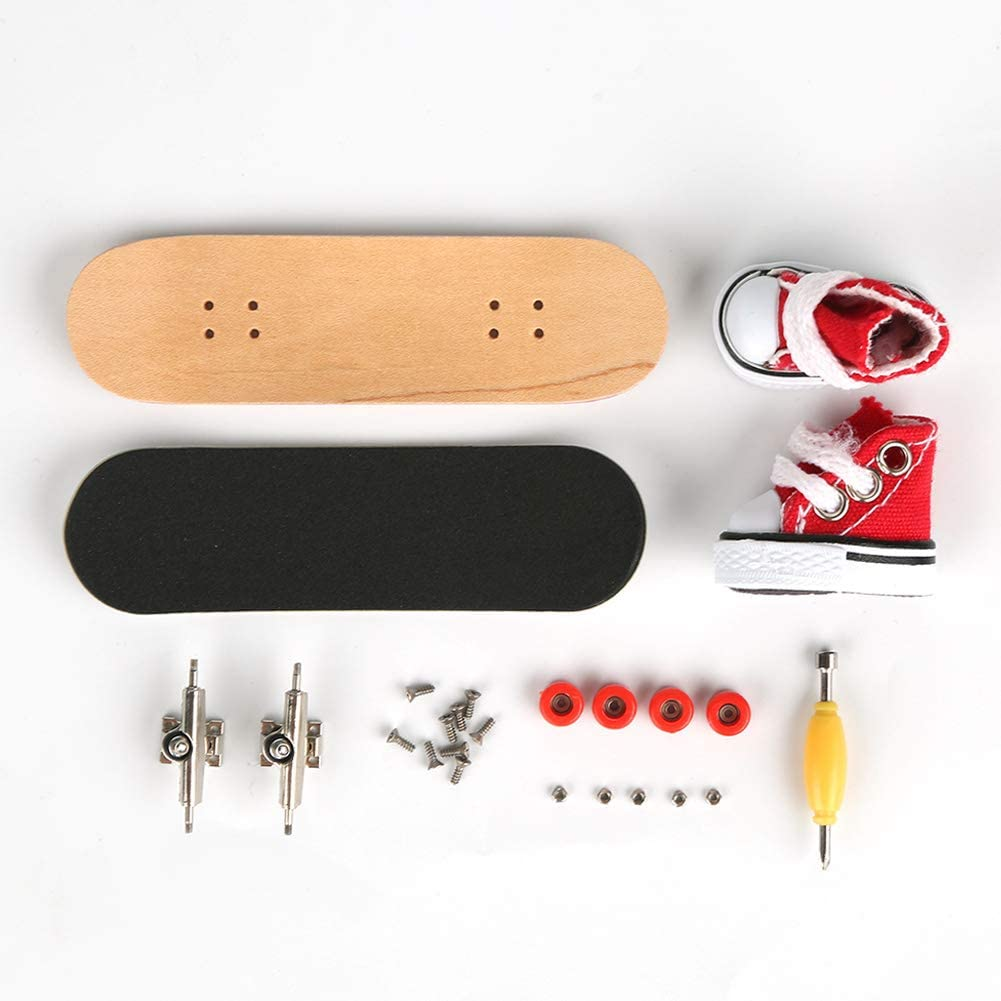 Amazon.com: Rock Deck - Kit de monopatín para niños (madera ...