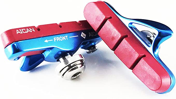 Aican Ultra Light Road brake shoes holder catridge for Shimano Blue