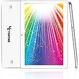 Yuntab K107 10.1 Inch Quad Core CPU MT6580 Cortex A7 Android 5.1,Unlocked Smartphone Phablet Tablet PC,1G+16G,HD 800x1280,Dual Camera,IPS,WiFi,Bluetooth,G-sensor,GPS,Support 3G Dual SIM Card (White)
