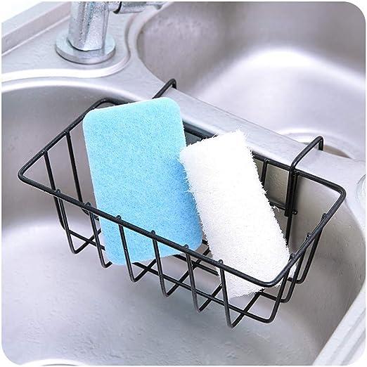 Porta esponja para accesorios de cocina, fregadero, fregadero ...