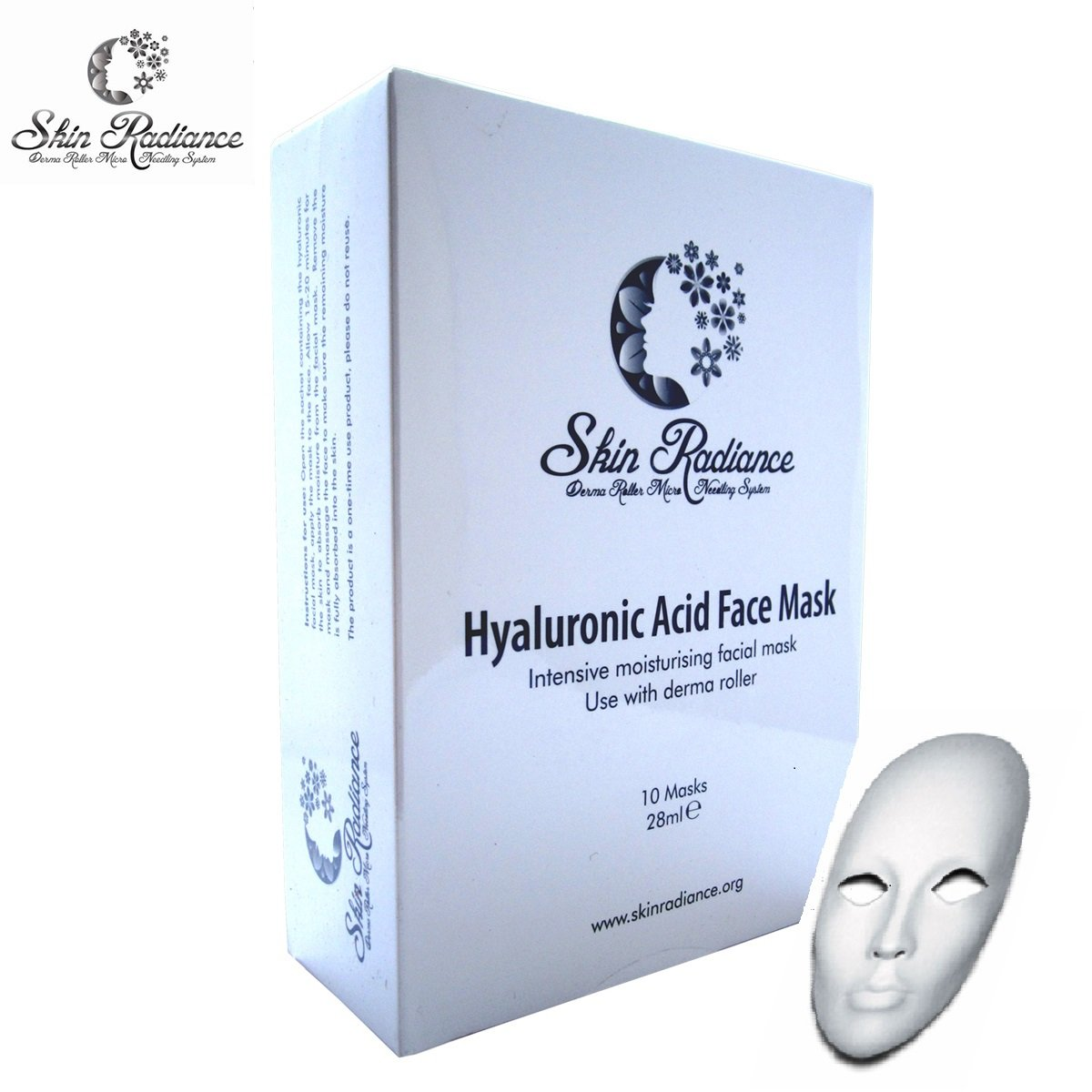 Superlift Anti Aging Collagen Face Masks Pack x 10 - Luxurious Facial Treatments for Pamper Nights at Home!! Derma Roller Sheet Face Masks by Skin Radiance® - Super Boosts Collagen with Deep Hydration, Visibly Reduces Wrinkles, Smoothes Out Skin and Tones
