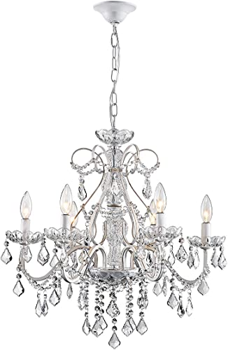ANJIADENGSHI Modern K9 Crystal Raindrop Chandelier Lighting LED Fixture Chandelier