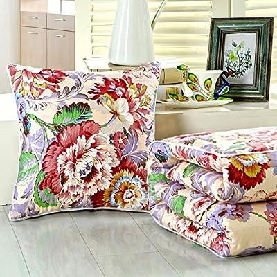 Jinyidian'Shop-Couverture Oreiller Oreiller Coussin de couleur pure est le maïs oreiller canapé Bureau climatisation automobile est ,C,150*200cm