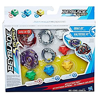 Beyblade Burst Apex Attack Pack: Toys & Games