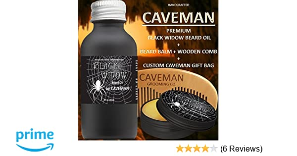 Aftershave & Pre-shave Hand Crafted Beard Oil Conditioner Huge 2 Oz Black Coffee Fragrance By Caveman® Online Discount