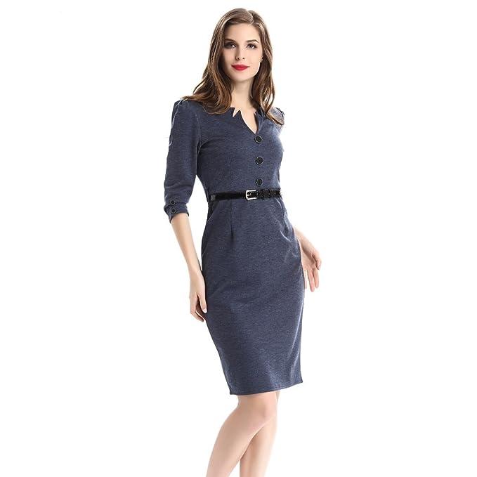 Oficina Lápiz Vestido business vestido trajes para las mujeres