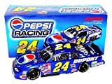 AUTOGRAPHED 2001 Jeff Gordon #24 Pepsi Racing Team (Hendrick Motorsports) Vintage Signed Action 1/24 NASCAR Diecast Car with COA (1 of only 14,832 produced!))