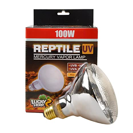Arcadia Reptile D3 Basking L Mercury Vapour Uva Uvb Heat Bulb 80w 100w 160w