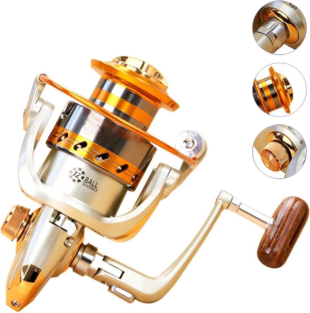 KSoutdoors Carretes de spincasting 12 BB Pesca Spinning Carrete ...