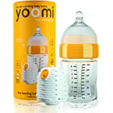 Yoomi Biberon da 240ml con tettarella medium e scaldino