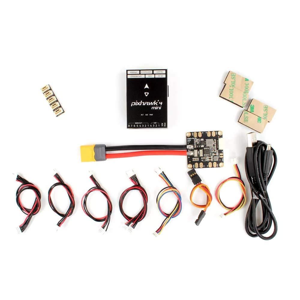 BeesClover Holy-bro Pixhawk 4 Mini Autopilot Flight Controller W/ PM06 Power Management 5V Output for RC Drone