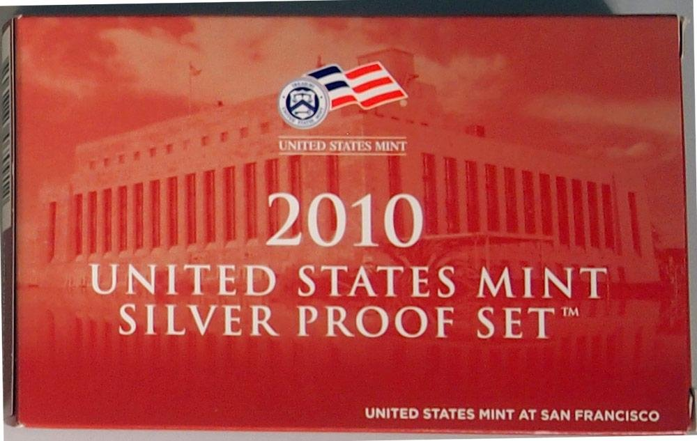 2010 S Silver Proof Set in Original US Government Packaging by  (Image #3)