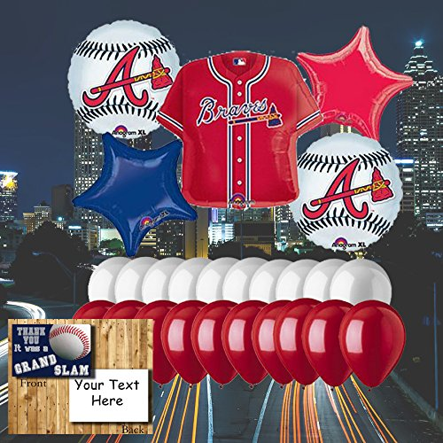 Atlanta Braves 25 piece Balloon