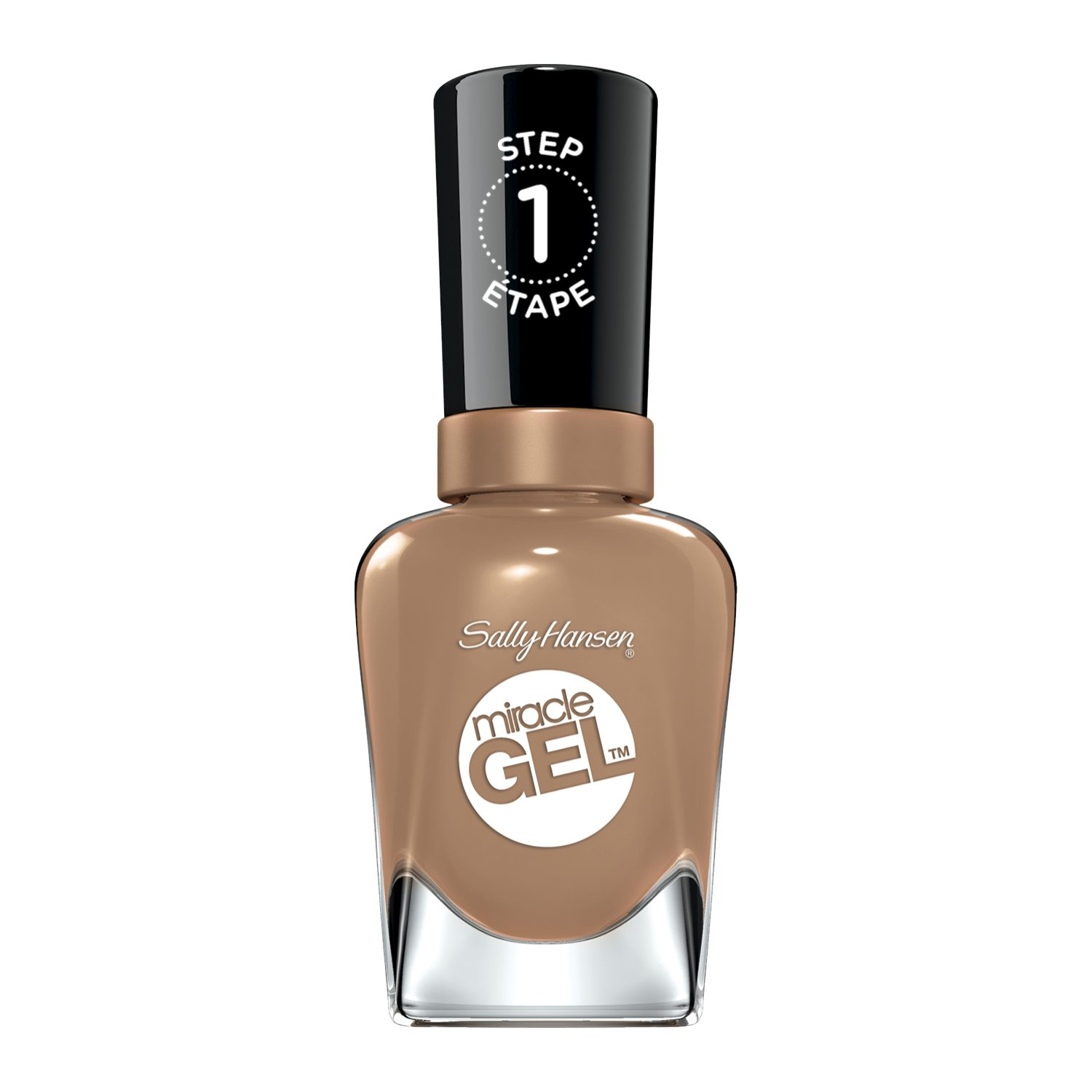 Sally Hansen Miracle Gel Nail Color, Truffle Shuffle, 0.5 Ounce