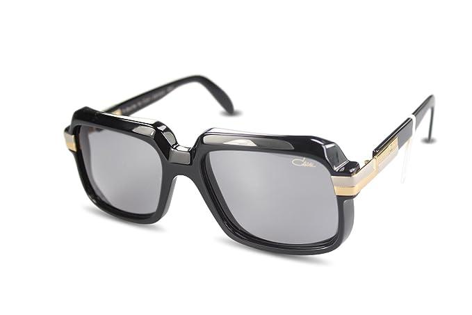 Cazal - Gafas de sol - Rectangular - para mujer negro negro ...