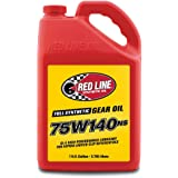 Red Line 57105 75W140NS GL-5 Gear Oil, 1 Gallon, 1 Pack