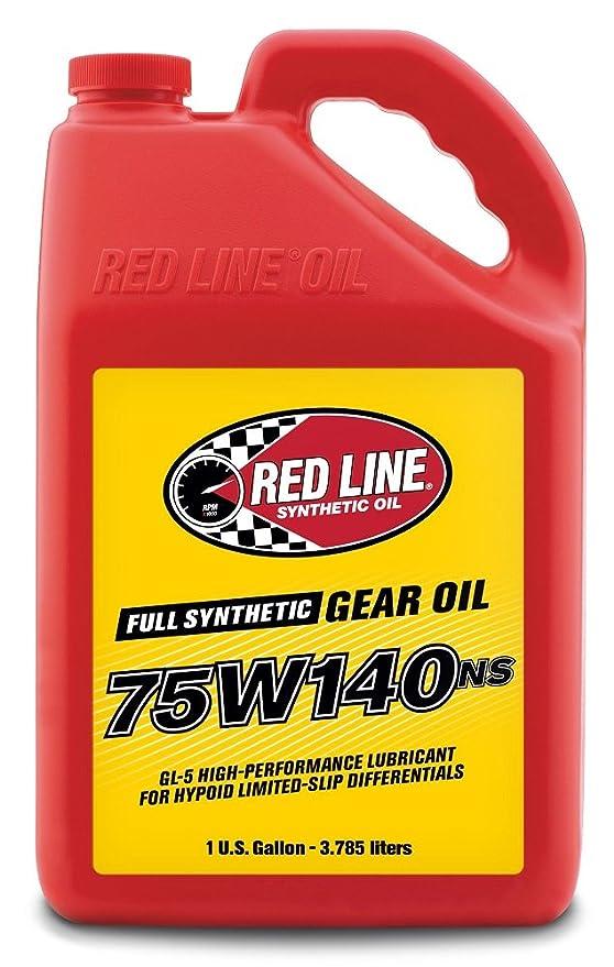 Amazon.com: Red Line 57105 75W140NS GL-5 Gear Oil, 1 Gallon, 1 Pack: Automotive