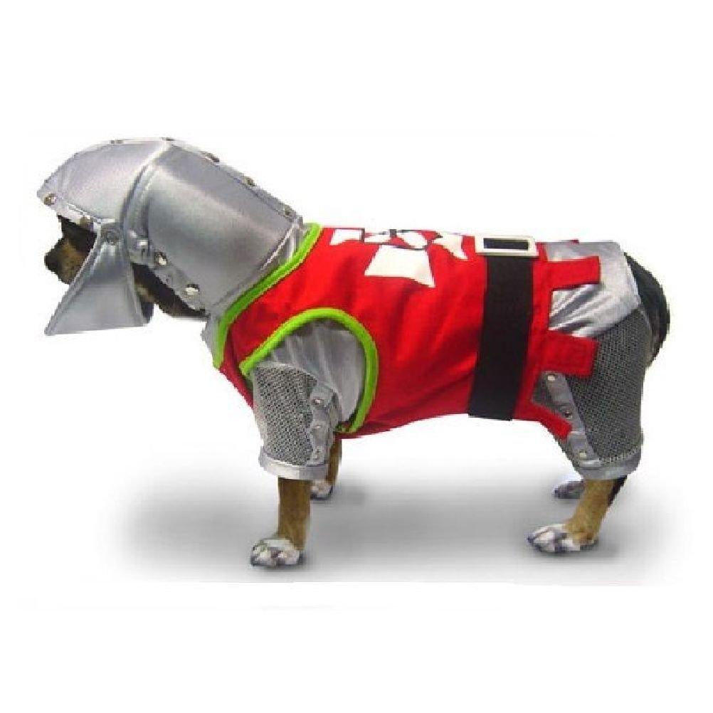 Sir Barks A Lot Costume Brave Royal Knight Dog