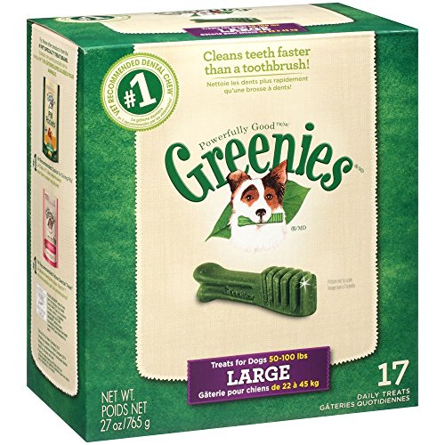 Greenies 17 ct 27 oz Canister Large (1 x 27oz) ()