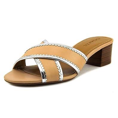 5ef6c53e4805 Coach Womens Murielle Open Toe Casual Slide Sandals