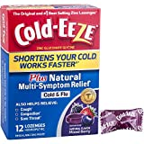 Cold-EEZE Cold Remedy Plus Multi-Symptom Relief Lozenge Mixed Berry 12 Count - The original and #1 best-selling zinc lozenges